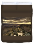 The Eastern Rim Of The Grand Canyon Duvet Cover