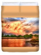 The Eastern Shore Duvet Cover