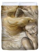 The Ecstasy Of Angels Duvet Cover