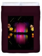 The Electric Fountain Duvet Cover