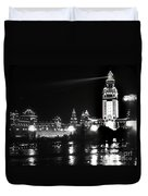 The Electric Tower Pan American Exposition Buffalo New York 1901 Duvet Cover