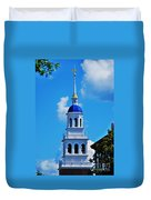 The Eliot House Tower, Harvard Duvet Cover