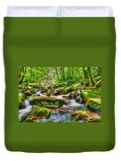 The Emerald Forest 15 Duvet Cover