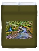 The Emerald Forest 2 Duvet Cover
