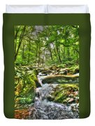 The Emerald Forest 3 Duvet Cover