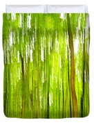 The Emerald Forest Duvet Cover by Bill Gallagher
