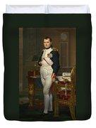 The Emperor Napoleon In His Study Duvet Cover