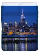 The Empire State Building Pastels Esb Duvet Cover