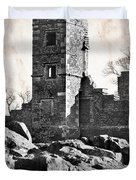 The Empty Tower Duvet Cover