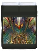 The Enchanted Candle Light Fire Fx  Duvet Cover