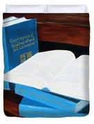 The Encyclopedia Of Newfoundland And Labrador - Joeys Books Duvet Cover