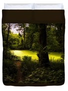 The End Of The Path Duvet Cover