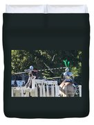 The End To The Jousting Contest  Duvet Cover