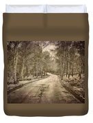The Entrance Of The Great Forest Duvet Cover