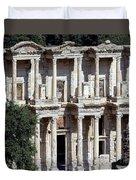 The Ephesus Library In Turkey Duvet Cover
