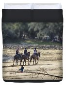 The Equestrians   Duvet Cover