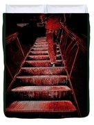 The Escalator Duvet Cover