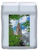 The Estrela Basilica In Lisbon Duvet Cover