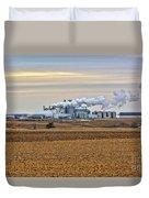 The Ethanol Plant Duvet Cover