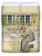 The Evening Before The Journey Duvet Cover