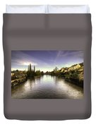 The Exe At Tiverton  Duvet Cover