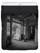 The Exit Bw Duvet Cover