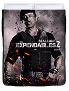 The Expendables 2 Stallone Duvet Cover
