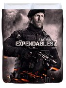 The Expendables 2 Statham Duvet Cover