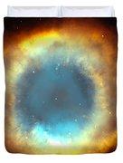 The Eye Of God-helix Nebula Close Up Duvet Cover
