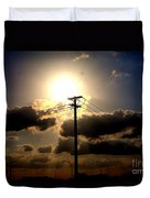 The Eye Of The Evening Sun Duvet Cover