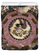The Eye Of The Hidden Tiger Duvet Cover