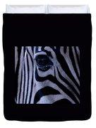 The Eye Of The Zebra Duvet Cover