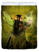 The Fairy Of Clairvoyant Duvet Cover