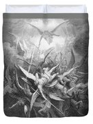 The Fall Of The Rebel Angels Duvet Cover