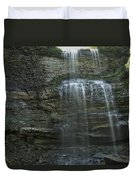 The Falls From Below Duvet Cover