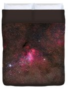 The False Comet Cluster In Scorpius Duvet Cover