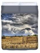 The Farm In The Summer Duvet Cover