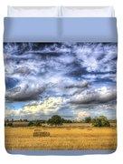 The Farm In The Summertime  Duvet Cover
