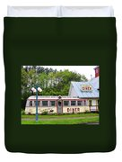 The Farmers Diner In Color Duvet Cover