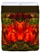 The Fates Duvet Cover by Omaste Witkowski