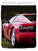 The Ferrari 512 Duvet Cover