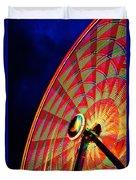 The Ferris Wheel 7/10/14 Duvet Cover
