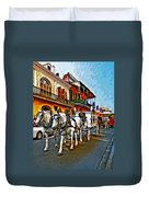 The Final Ride Painted Duvet Cover