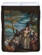 The Finding Of Moses Duvet Cover