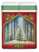 The Fir Tree Duvet Cover