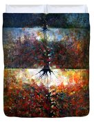 The Fire Of Forest-the Fire Of Heart Duvet Cover