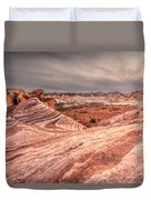 The Fire Wave Duvet Cover