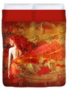 The Fire Within Duvet Cover by Jacky Gerritsen