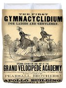 The First Gymnacyclidium Duvet Cover