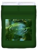 The Fish Pond Duvet Cover